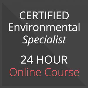 certified environmental specialist training