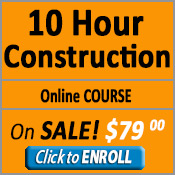 button for 10 hour construction online course