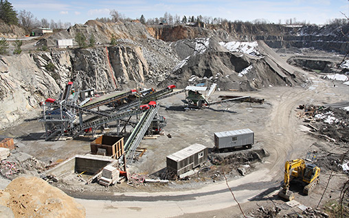 MSHA Training for Mining in Quarry