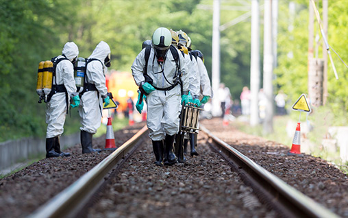 OSHA 40 Hour HAZWOPER Training prepared workers for train incident